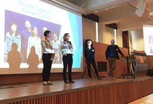 De fire nyansatte karriereveilederne i karrieresenteret i Finnmark avdeling Vadsø og Alta